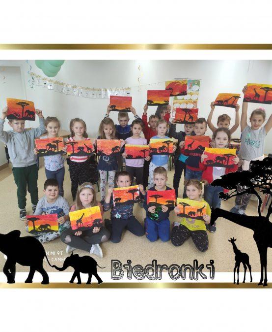 Przedszkolaki w podróży na Safari
