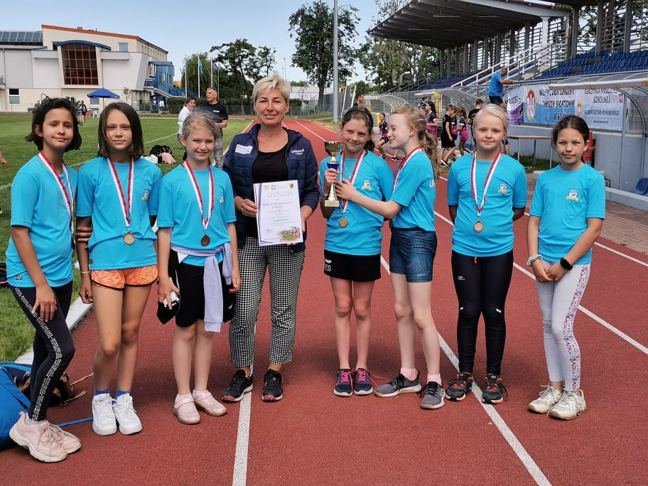 Sukces młodych sportowców naszej szkoły