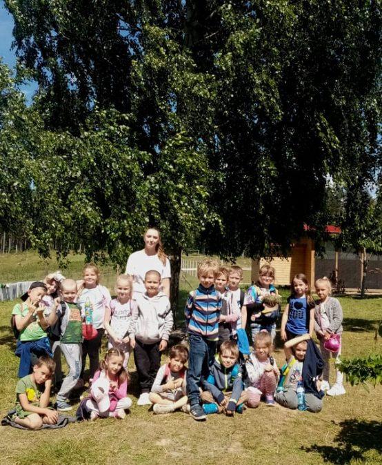 Wycieczka Przedszkolaków do Gowińskiej Zagrody Edukacyjnej