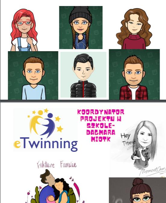 Projekt eTwinning FIKTIVE FAMILIE