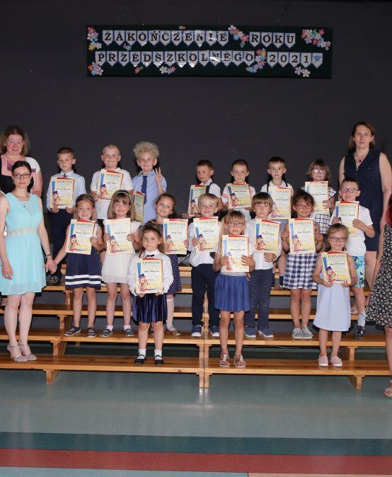 Uroczyste Zakończenie Roku w Przedszkolu nr 4 w Redzie